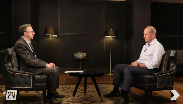 «Հայաստան» դաշինքի առաջնորդ Ռոբերտ Քոչարյանը հարցազրույց է տվել «Շանթ» հեռուստաընկերությանը