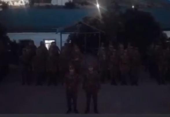 Զինվորները իրենց աջակցությունն են հայտնում «Հայաստան» դաշինքին