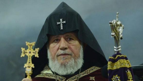 Католикос Всех Армян направил послание накануне внеочередных выборов