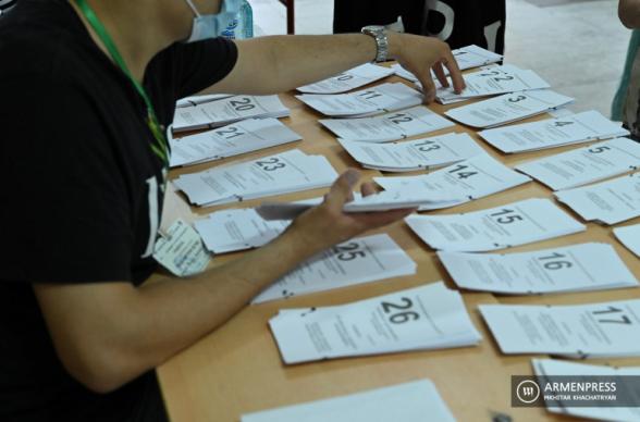 Տպագրական թերությունների պատճառով քվեաթերթիկը չի կարելի ճանաչել անվավեր. ԿԸՀ քարտուղար