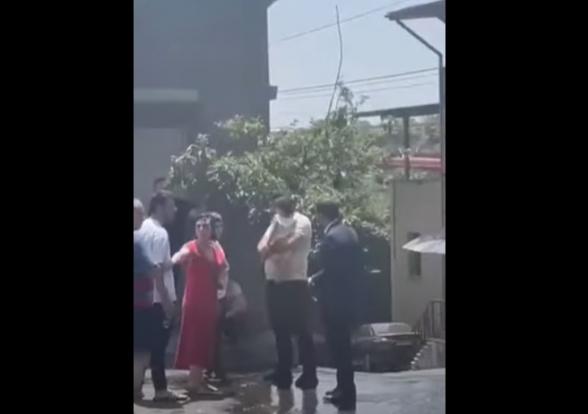 Տիգրան Ավինյանը սադրում է քաղաքացիներին Այգեձորում