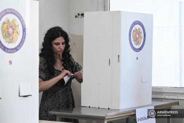 983 ընտրատեղամասերից տվյալներ
