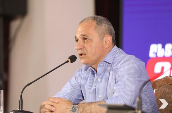 «Հայաստան» դաշինքը չի ընդունում քվեարկության արդյունքները և դիմելու է ՍԴ. Վահե Հակոբյան