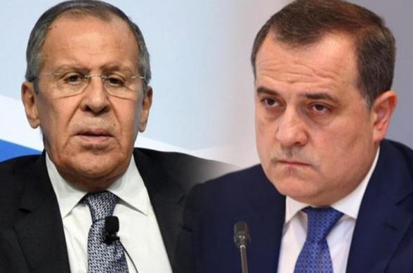 Лавров и Байрамов обсудили реализацию договоренностей от 9 ноября 2020 года