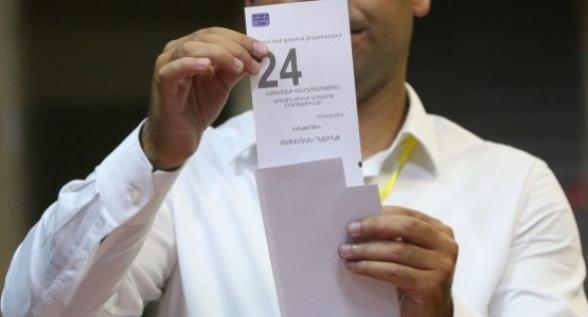 Կապան համայնքի 2 ընտրատեղամասում կորել էին «Հայաստան» դաշինքի ձայները