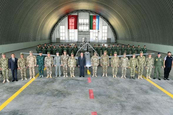Азербайджан разместил беспилотники «Bayraktar TB2» в Нахиджеване (фото)