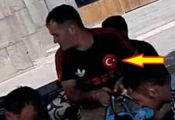 Ես զարմանում եմ, որ դուք զարմանում եք, որ թուրքական դրոշը դոշին երիտասարդ եք տեսնում Երևանում