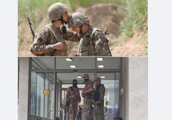 Միայն համազգեստ կրելով զինվորական չեն դառնում, արա
