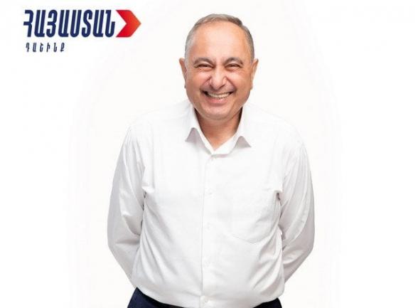 Армен Чарчян намерен взять депутатский мандат – Вардеванян