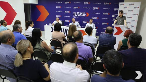 Состоялось заседание парламентской фракции блока «Армения»