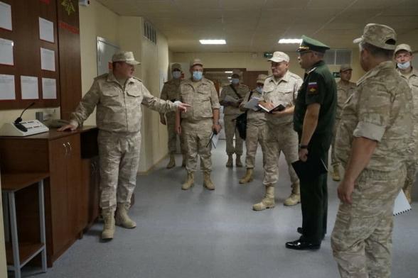 Командующий войсками ЦВО посетил Таджикистан
