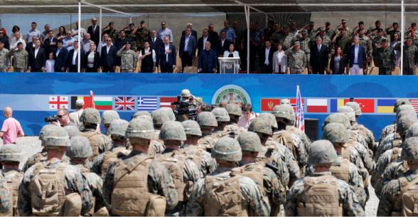 Վրաստանում սկսվել է զորավարժություն 12 երկրների, այդ թվում՝ Թուրքիայի ու Ադրբեջանի մասնակցությամբ