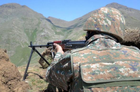 Азербайджанские подразделения отброшены на исходные позиции, понеся потери – Минобороны РА
