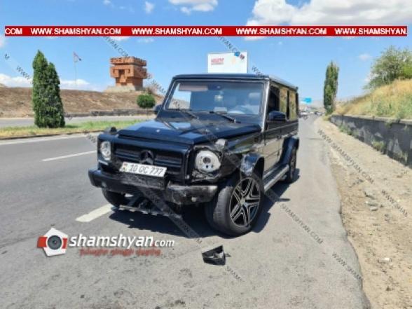 Կոտայքի մարզում հարսանիքի շտապող «Յաշիկի» վարորդը դուրս է եկել հանդիպակաց և ճակատ-ճակատի բախվել Opel-ին. կա վիրավոր