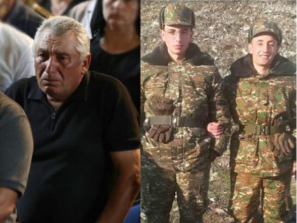 Արթուր Թևոսյանից այս պատերազմը խլել է երկու որդիներին. նա միակն էր այդ օրը, ով երկու անգամ մոտեցավ պատվո դրոշներին․․․