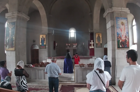 Ռուս խաղաղապահներն ավելի քան 1000 ուխտավորի են ուղեկցել Ամարաս վանական համալիր. ՌԴ ՊՆ