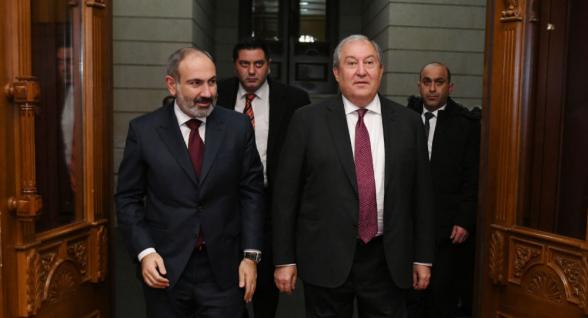 Փաշինյանը կրկին նշանակվեց ՀՀ վարչապետ