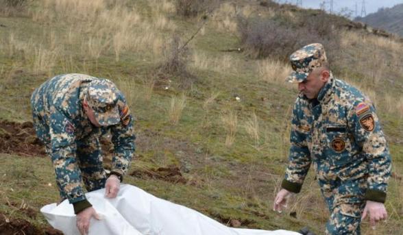 В Варанде обнаружены еще 4 тела погибших в ходе 44-дневной войны в Арцахе