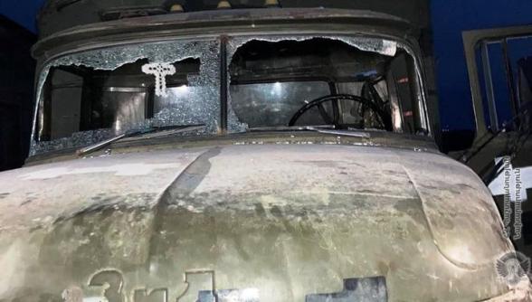 Հակառակորդը կրակոցներից վնասվել է ՊՆ ավտոմեքենան․ քրգործ է հարուցվել