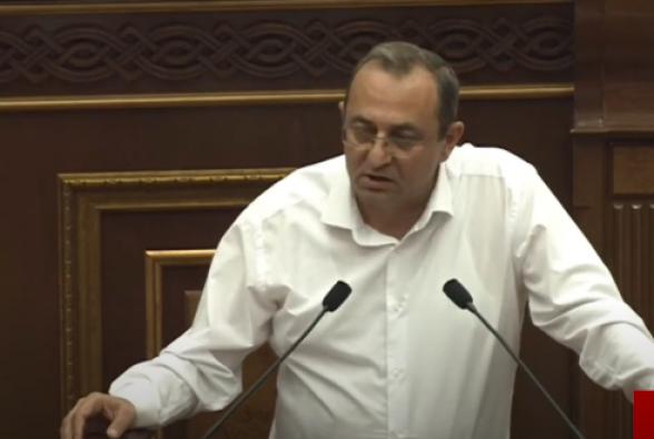 Արծվիկ Մինասյանը իշխանական պատգամավոր Գագիկ Մելքոնյանին տգետ ու հիմար անվանեց (տեսանյութ)