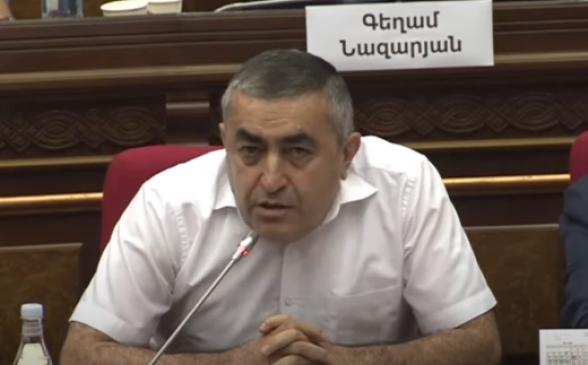 Армен Рустамян – депутату от ГД: «Работаете по схеме, доказываете, что недействительные бюллетени – дело ваших рук» (видео)