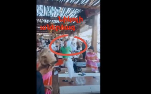 Ален Симонян и Грачья Акопян отрываются в Греции (видео)