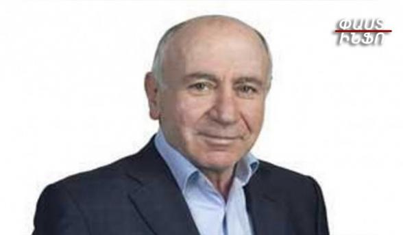 Власти собираются арестовать больного раком директора издательства «Тигран Мец» Врежа Маркосяна