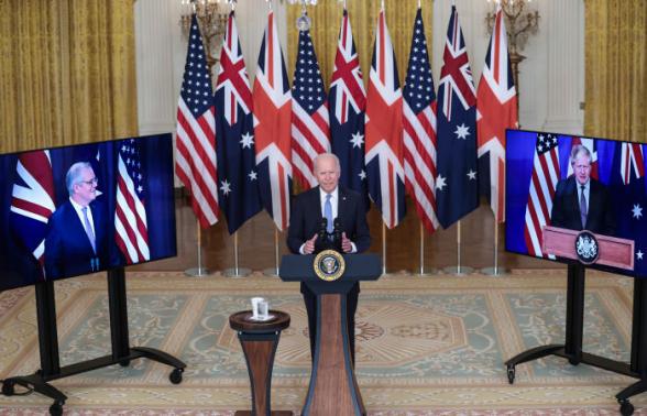 Великобритания, США и Австралия создали оборонный альянс AUKUS