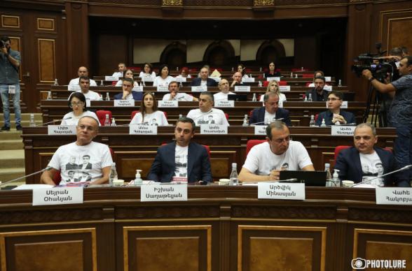 Парламентская фракция «Армения» отказывается от премий (видео)