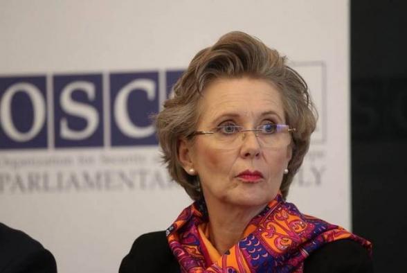 Председатель ПА ОБСЕ отметила важность установления в Нагорном Карабахе длительного мира
