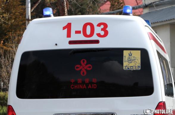 Երևանում վրաերթի են ենթարկել ոստիկանության շտաբի պետի տեղակալի, վերջինս տեղափոխվել է հիվանդանոց