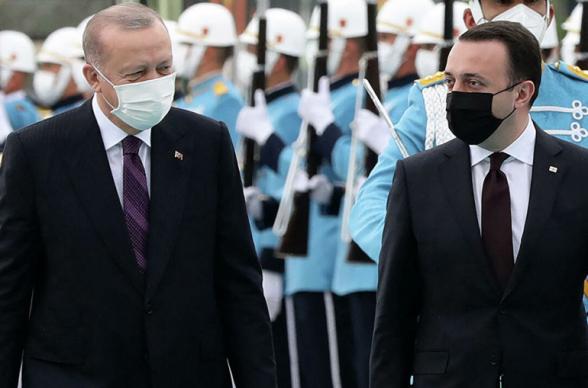 Главы Грузии и Турции обсудили ситуацию в регионе