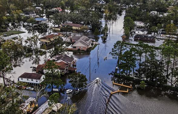 Ущерб от урагана «Ида» может обойтись страховщикам в США минимум в $31 млрд