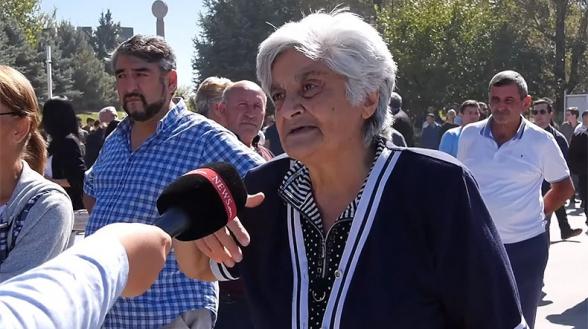 Мать погибшего героя: «Если бы не было Пашиняна, Арцах не был бы продан» (видео)