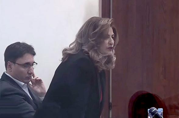 Արմեն Գևորգյանի շահերը դատարանում կպաշտպանի Լուսինե Սահակյանը