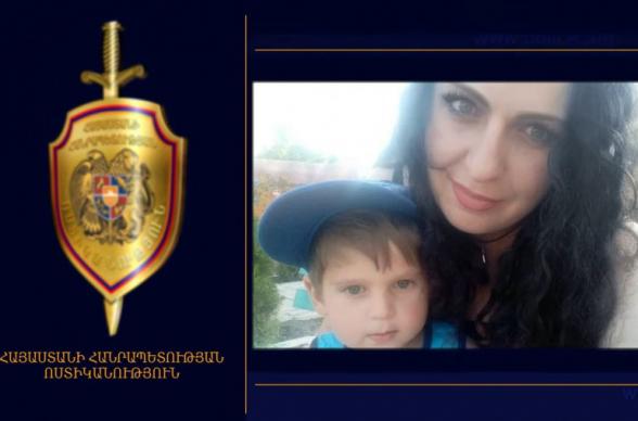 Որպես անհետ կորած որոնվող կինն ու որդին հայտնաբերվել են (տեսանյութ)
