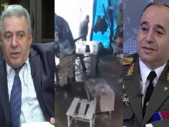 Աղետալի իրավիճակ․ զինվորները քնում են անձրևի տակ (տեսանյութ)